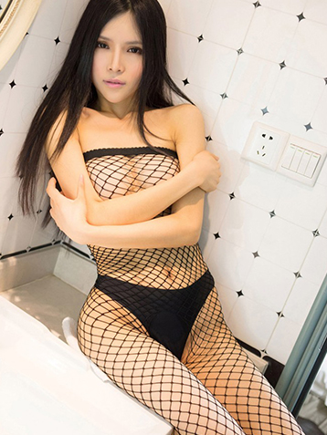 连身网袜模特美人诱惑翘臀图片