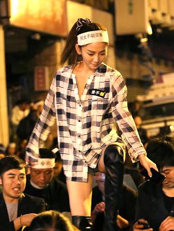 太阳花女王刘乔安曝援交视频 引发各种议论