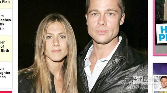 女星詹妮弗安妮斯顿和皮特离婚后互送祝福