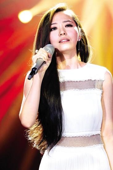 张靓颖淡然《我是歌手3》排位心态非常泰然