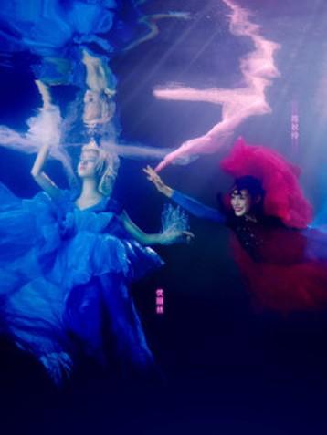 《来吧!灰姑娘》考验升级:水下大片拍摄