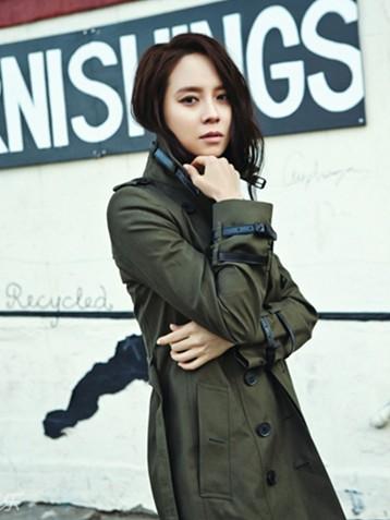 韩国女星宋智孝赴美拍时尚大片