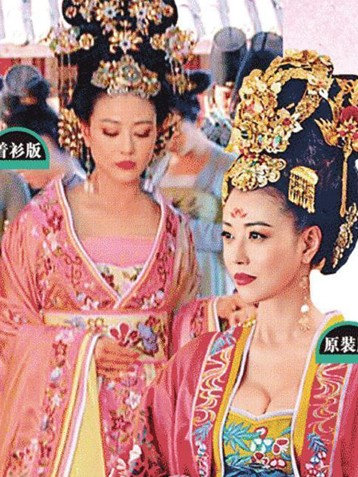 电视剧《武媚娘传奇》香港开播遭胸前加料