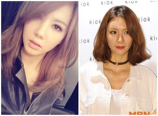 韩国女团成员After School正雅整容过度 少女变大婶
