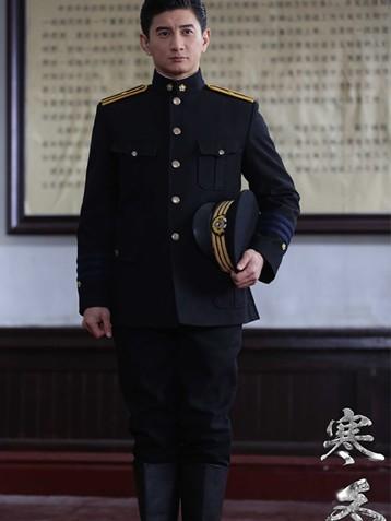 吴奇隆主演谍战剧《寒冬》热播