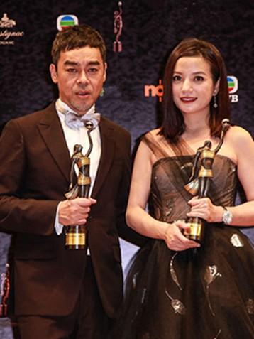 第34届香港电影金像奖刘青云赵薇分获帝后