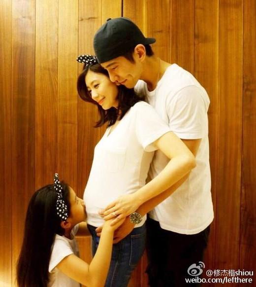 贾静雯怀孕五个月修杰楷要当爸 两人尚未结婚