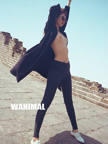 wanimal系列模特全套无码