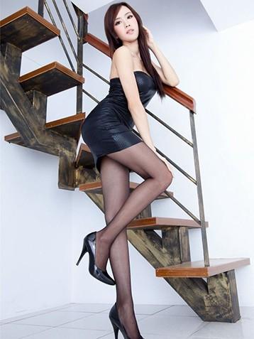 黑丝袜长腿翘臀绝对正美女