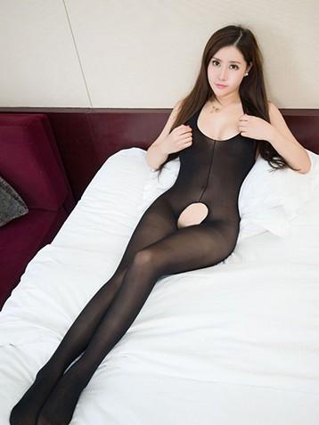 连体丝袜外围女图片