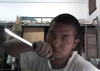 曝杀害中传女生周云露嫌犯李斯达私藏尖刀1