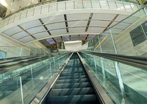 上海现50米扶梯 网友:直接上天的感觉!