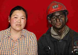 矿工下井前后夫妻照对比 如果我是矿工你会爱我吗?
