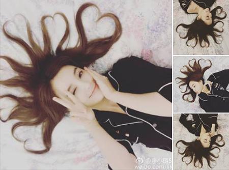 李小璐晒心形发型 网友:这是八爪鱼现身了吗