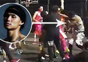 中国街球王吴悠昆明被打住院 脑部受伤严重