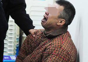 男子被判死刑后大哭 因纠纷持刀连杀3人