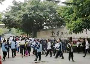 江西中学女生坠亡 警方通报排除他杀