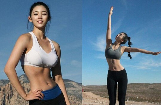 韩国爆红的90后嫩模女星柳胜玉私照