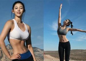 韓國爆紅的90后嫩模女星柳勝玉私照