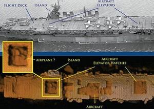 美航母海底沉睡64年被发现 船体惊人完整