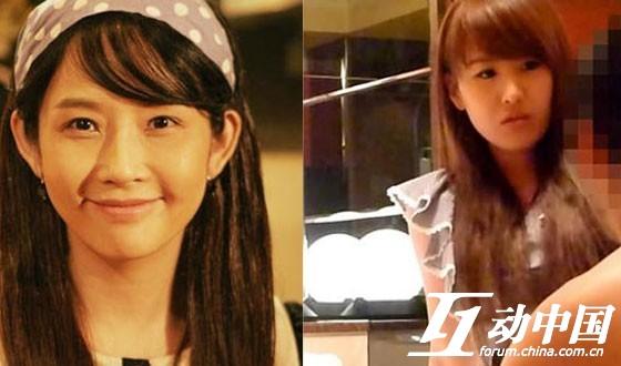 韓國演藝圈悲慘事件Vol.06女星:韓國女演員崔真實對比照