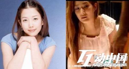 韩国演艺圈悲惨事件Vol.08女星:韩国明星郑多彬对比照
