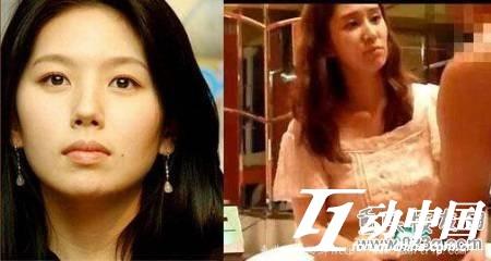 韓國演藝圈悲慘事件Vol.10女星:韓國頂尖女演員李恩珠對比照