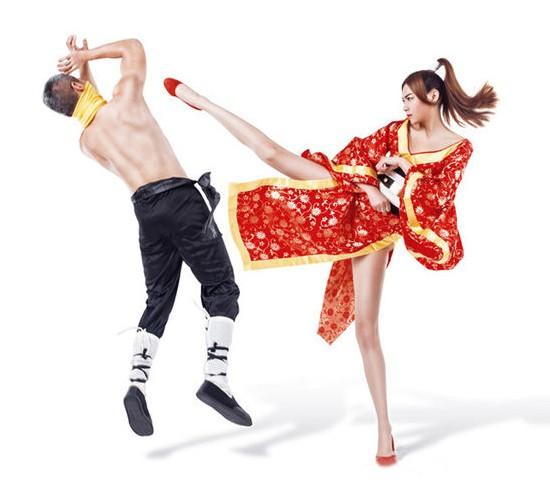 中国模特1.15米大长腿美女