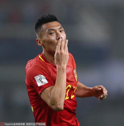 赢了!国足1-0韩国 于大宝头球破门 精彩回顾