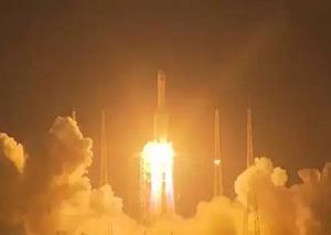 长征五号遥二火箭发射失利 中国航天加油!