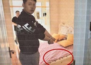 女孩被杀藏尸床箱 警察意外发现女孩身世