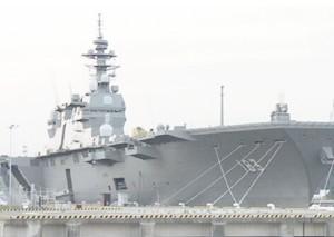 日本出云号准航母重大事故:11人中毒
