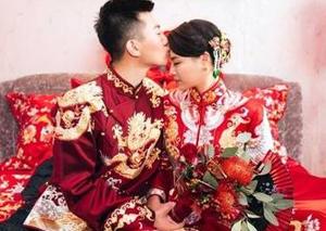跳水女皇吴敏霞上海办婚礼 礼服从古到今