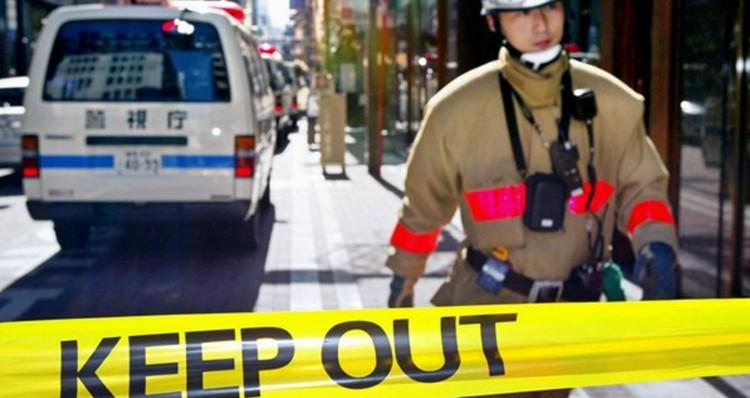 东京持刀砍人事件 致1死3伤警方寻找袭击者