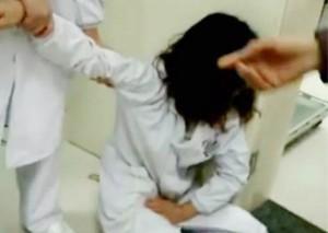 怀孕女护士遭公务员妻子殴打 已有流产迹象