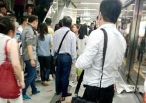 深圳一男子被地铁列车碾压身亡 死者系自行卧轨
